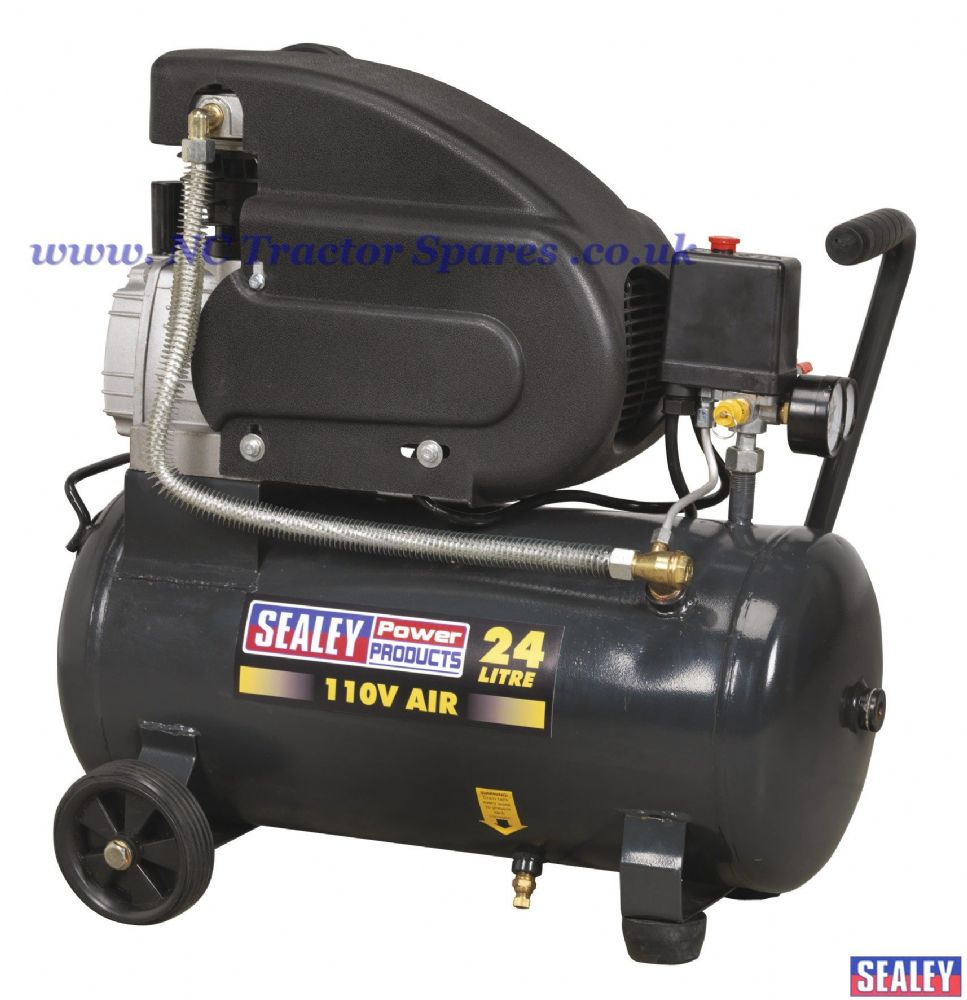 Compressor 24ltr Direct Drive 2hp 110V
